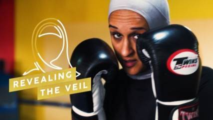 My hijab doesn't stop me from being a Muay Thai fighter
