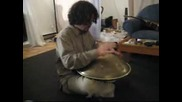Improvising On My Own Hangdrum