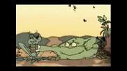 Смешна Анимация - Две Жаби