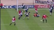 Гола на Крал Ерик във финала на Фа Къп през 1996г срещу Ливърпул.