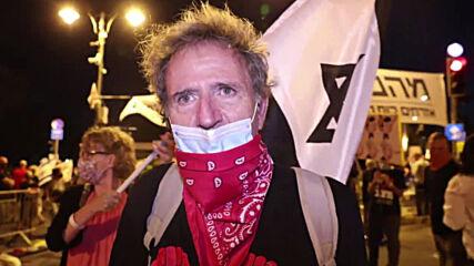 Israel: Several arrested at anti-govt. demo in Jerusalem