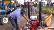 Виждали ли сте моторни резачки с V8 двигатели Гледайте какво правят!