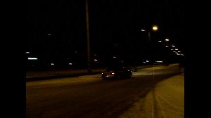 Subaru Impreza on snow