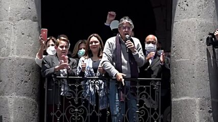 Ecuador: Hundreds rally in support of President Lasso in Quito amid state of emergency