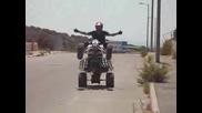Мн Як Стънт С ATV Kawasaki