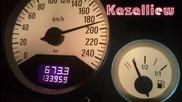 Opel Astra G - Ускорение