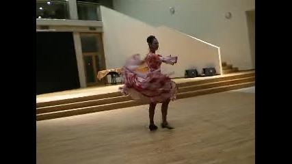 Испански танц - малагеня