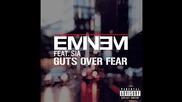 +превод ! Премиера! Eminem - Guts Over Fear ft. Sia