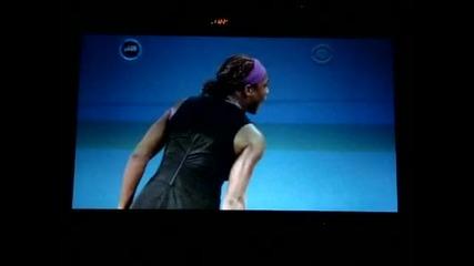 Тенисистка заплашва съдия със смърт :d