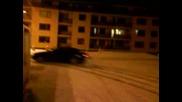 Winter Drift With Alfa Gtv 2.0 Ts
