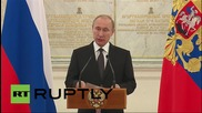Russia: Putin blasts Nazism and warmongering in Moscow address