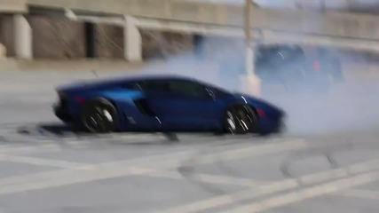 Aventador се върти на прекъсвача !