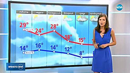 Прогноза за времето (22.09.2018 - обедна емисия)