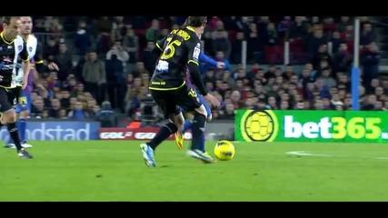 Lionel Messi vs Levante (h) 11-12