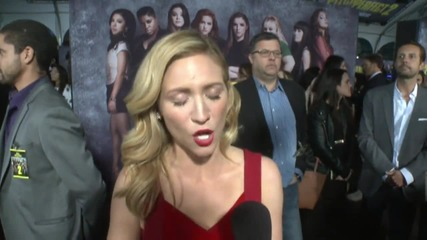 Pitch Perfect 2 Premiere: Brittany Snow