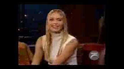Sharapova In Kilborn Late Show