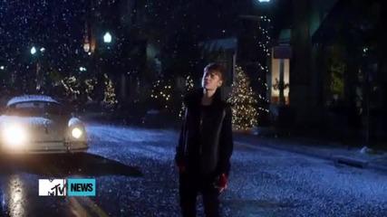 Превю На Видеоклипа На Justin Bieber - Mistletoe