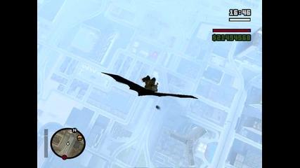[gta Sa] Скок от самолет.