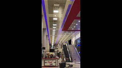 Дъжд в столичен мол