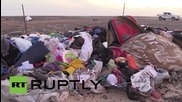 Egypt: EMERCOM units continue the recovery operation at the A321 crash site