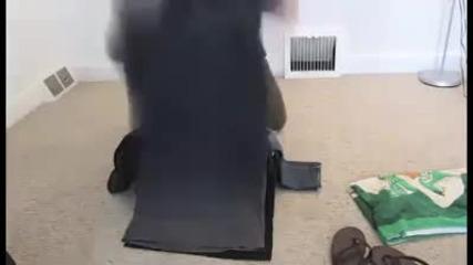 Нечовешко опаковане на багаж