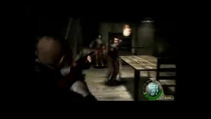 Resident Evil 4 - Gameplay Pro Mode pt.11 Cabin Fight
