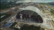 Чернобил, сниман от дрон