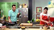 Прясна паста със сос пате от пилешки дробчета - Бон апети (05.07.2018)