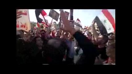 Шествието на Сирийците в град Латакия на 28.05.2011г. втора част