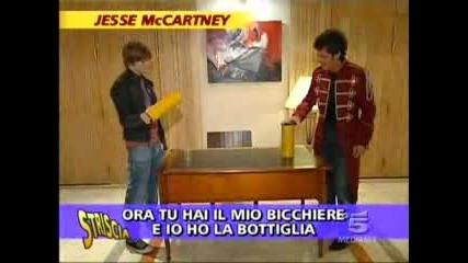 Jesse Mccartney В Италия
