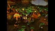 Wow Raid Orgrimmar ~300 People Trollbane