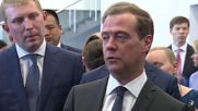 Russia: PM Medvedev guided around Moscow's new Zhukovsky airport