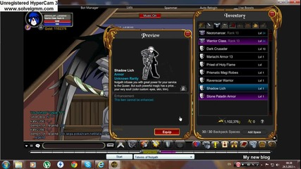 demon_of _legend items