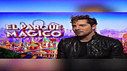 David Bisbal Entrevista El Parque Magico