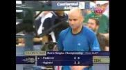 Us Open 2005 Final Roger Federer - Andre Agassi