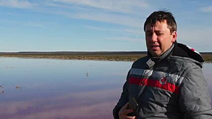 Argentina: Pollution turns Patagonia lagoon striking pink