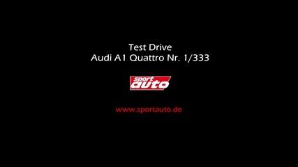 Един истински звяр - Audi A1 Quattro