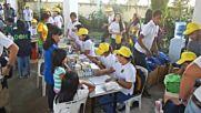 Близо 75 000 са евакуираните заради вулкана Майон