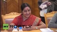 Russia: India's Swaraj praises relationship with Moscow at Lavrov meeting