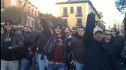 Фенове на Лацио (мадрид 24.02.2012)