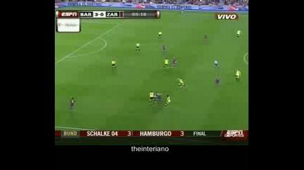 Barcelona vs Real Zaragoza 6 - 1 Highlights & Goals