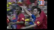 Барселона - Виляреал 3:3 Гол На Самуел Ето`o