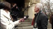 Руската слуга Волен Сидеров в Руската църква 3.3.2014 Националния предател - руската партия атака