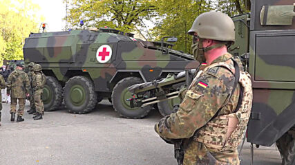 Germany: Police and Bundeswehr perform large anti-terrorism exercises in Feldkirchen