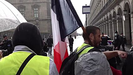 France: Hundreds of protesters march in Paris against COVID-19 health pass