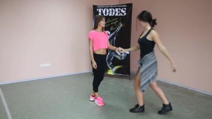 Как танцевать медленный танец _ Как научиться танцевать девушке в дискотеке_ Урок 3