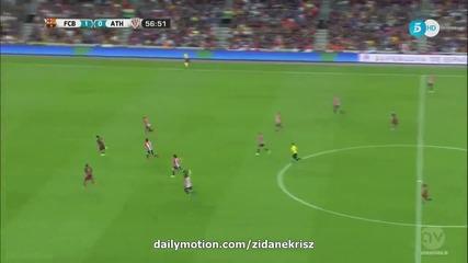 Барселона - Атлетик Билбао 1:1 втори мач за Суперкупата на Испания [17.08.2015]