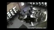 Брутални полицаи в Русия - Бой