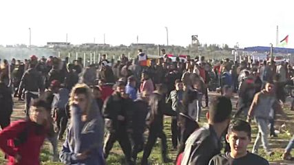 State of Palestine: Israeli forces injure at least 14 at March of Return demo