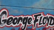 France: Stains anti-racism mural depicting George Floyd and Adama Traore defaced